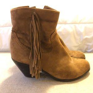 Size 7 Sam Edelman Brown Suede Boots